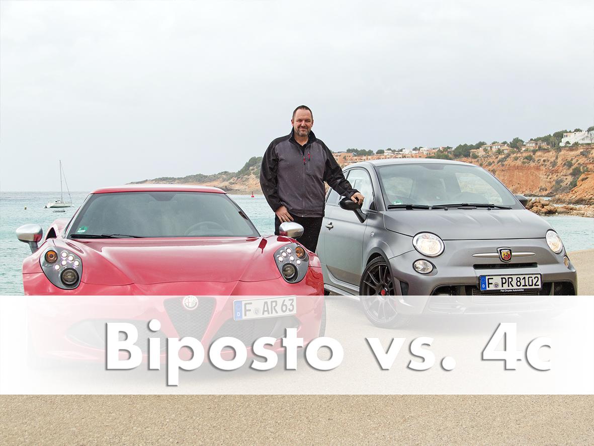 Comparison Test: Abarth 695 Biposto vs. Alfa Romeo 4c