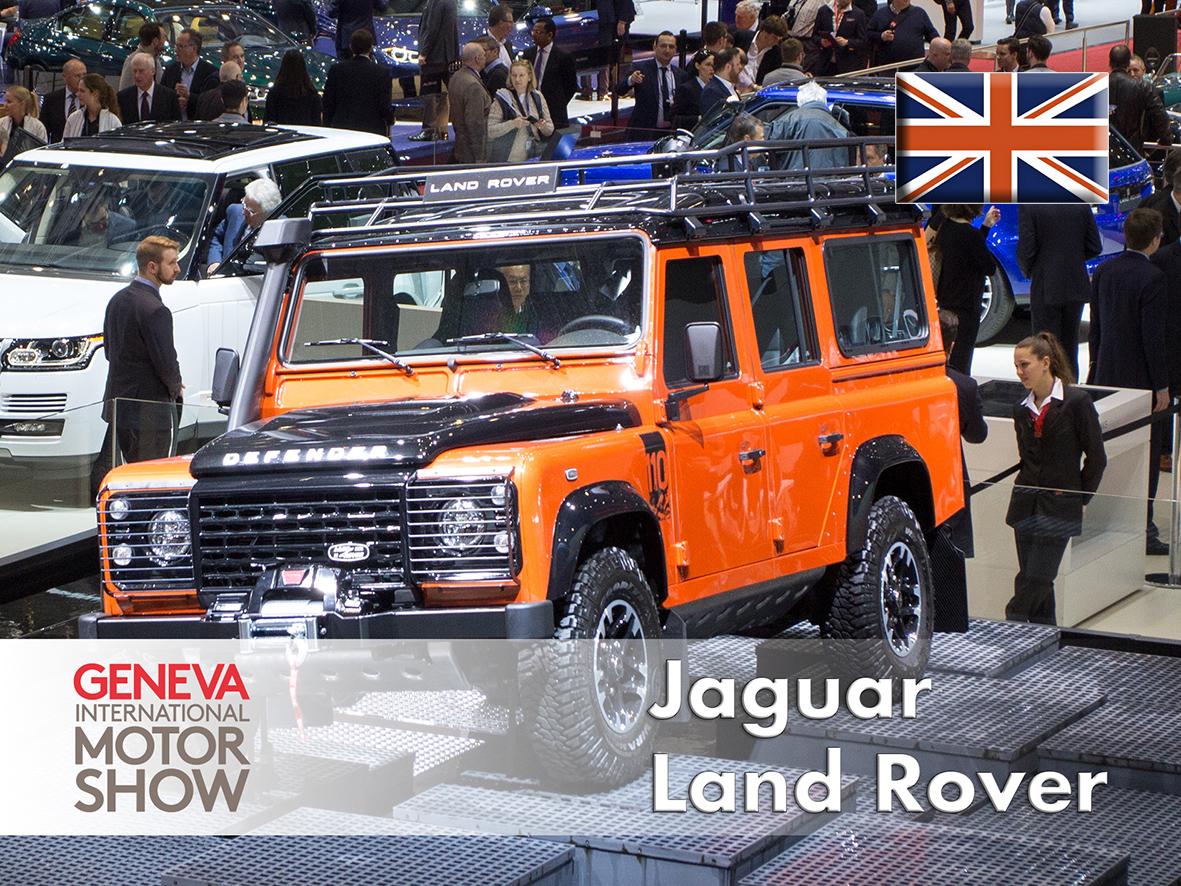 Land Rover Defender Special Edition. Geneva 2015