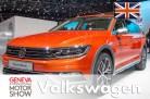 VW Passat Alltrack, Geneva 2015