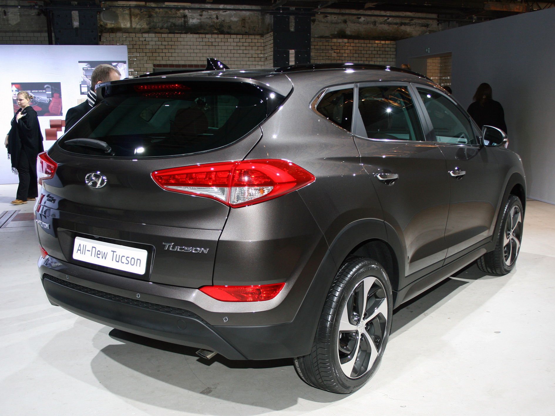 World Premiere: Hyundai Tucson 2015 in Berlin