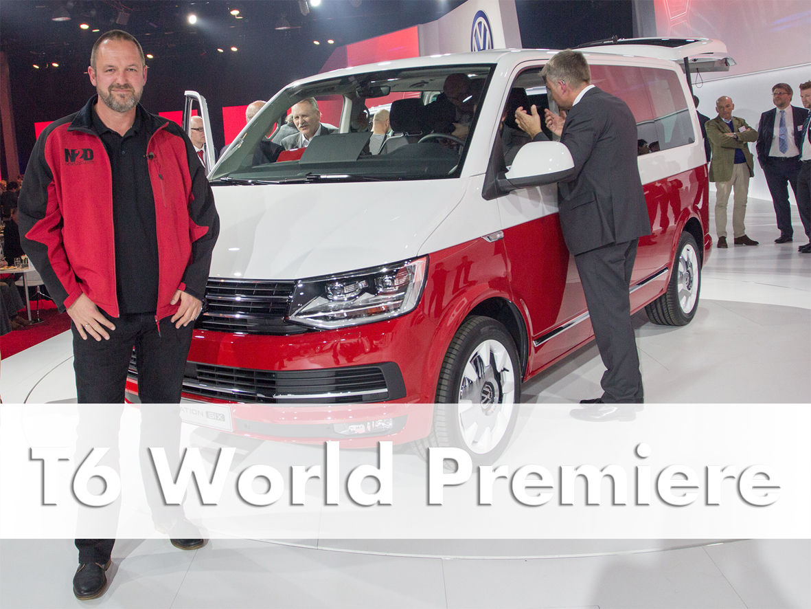 All-new Volkswagen T6 World Premiere Amsterdam