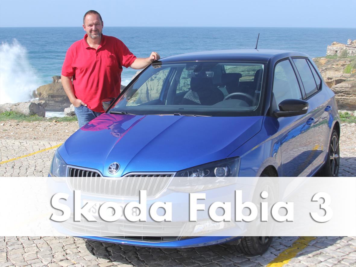 Test Drive Skoda Fabia 3