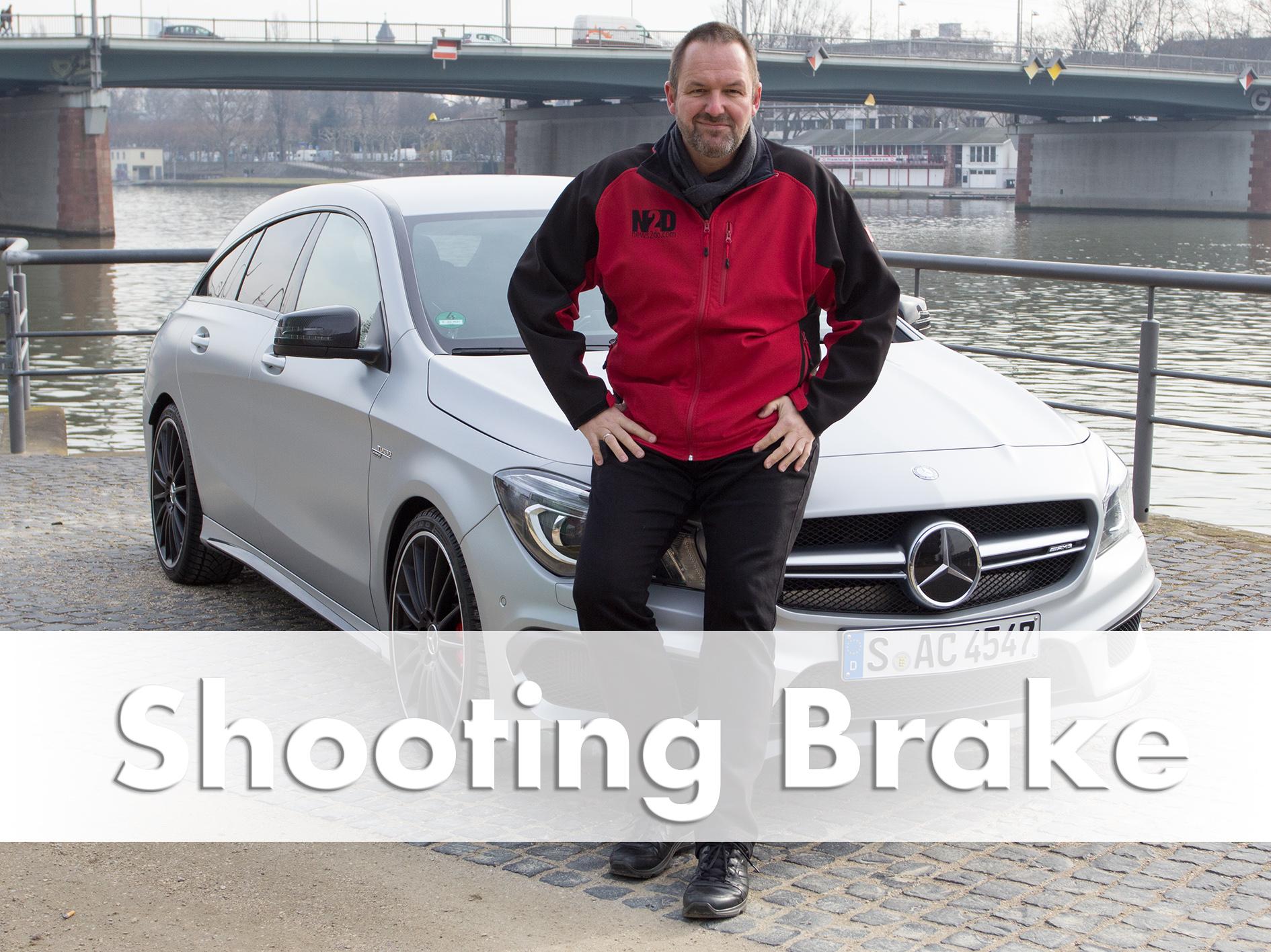 Tested: Mercedes CLA 45 AMG Shooting Brake 4Matic