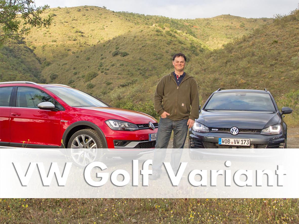 Road Test, Golf Variant models, GTD, R, Alltrack, 2015
