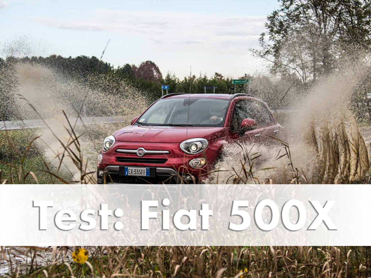 Fiat 500x Test Drive in Italy