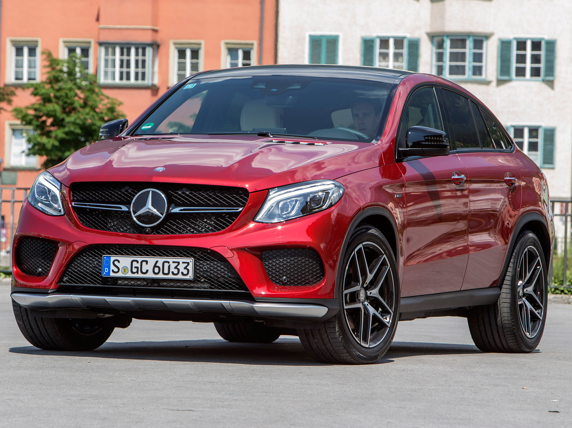 Drive report mercedes benz gle 450 amg 4matic coup for Mercedes benz 450