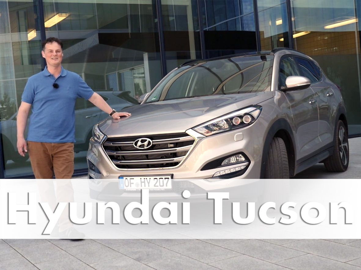Hyundai Tucson road tested in Frankfurt