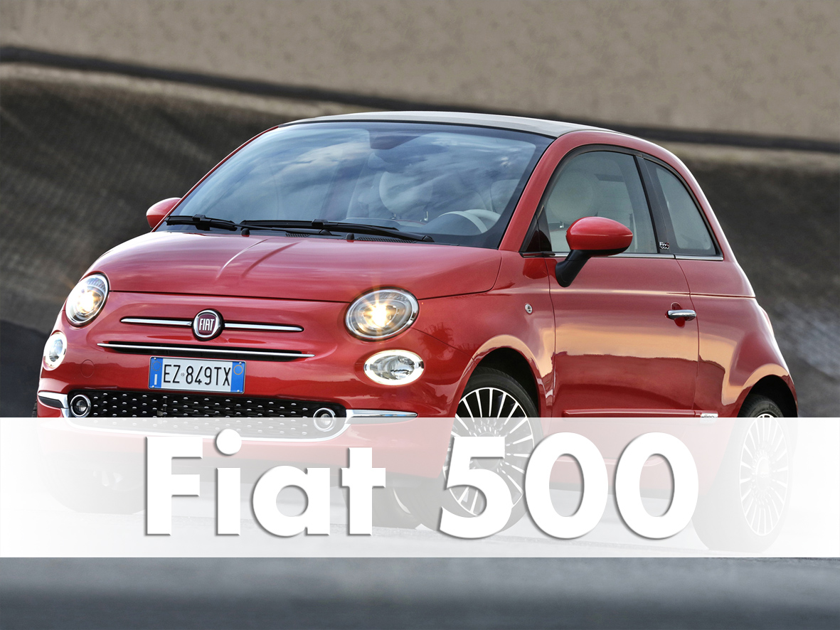 Test Fiat 500 , Model 2016 in Turin
