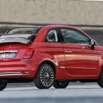 Fiat 500 Convertible, Model 2016