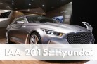 World Premiere of Hyundai's concept car, the Vision G in Frankfurt. Image: Hyundai / http://autovideoreview.com