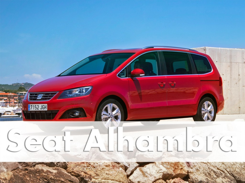 seat alhambra 2016 drive test car review drive. Black Bedroom Furniture Sets. Home Design Ideas