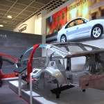 Aluminum, Magnesium and Carbon fibre are modern materials for cars