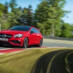 Mercedes-AMG A 45 4MATIC on the Race Track.