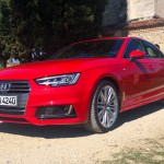 Audi A4: Front, side view