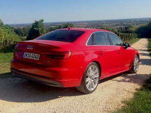 A4: Side and rear view