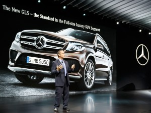 World Premiere of the new Mercedes GLS