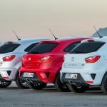 The 2016 Ibiza Cupra - rear