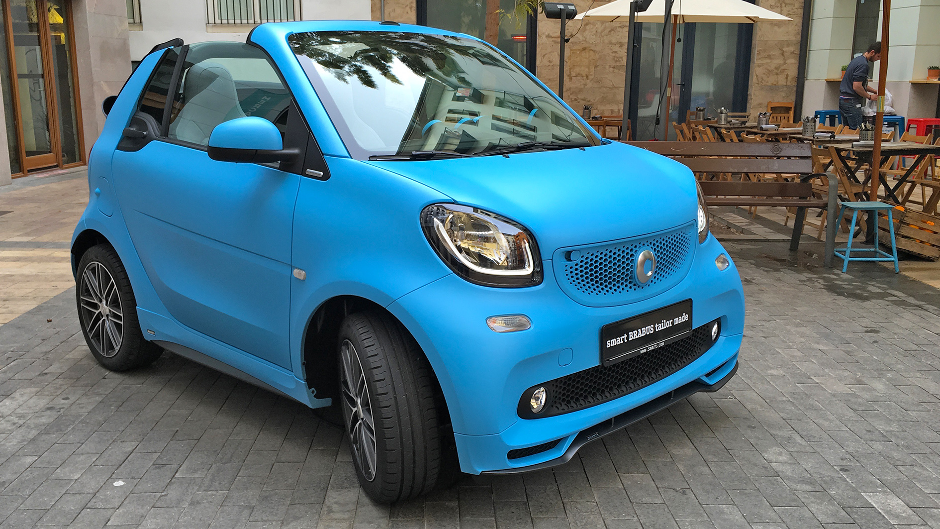 smart fortwo cabrio 2016 car review driving test. Black Bedroom Furniture Sets. Home Design Ideas
