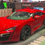 The Lykan HyperSport at Geneva 2016