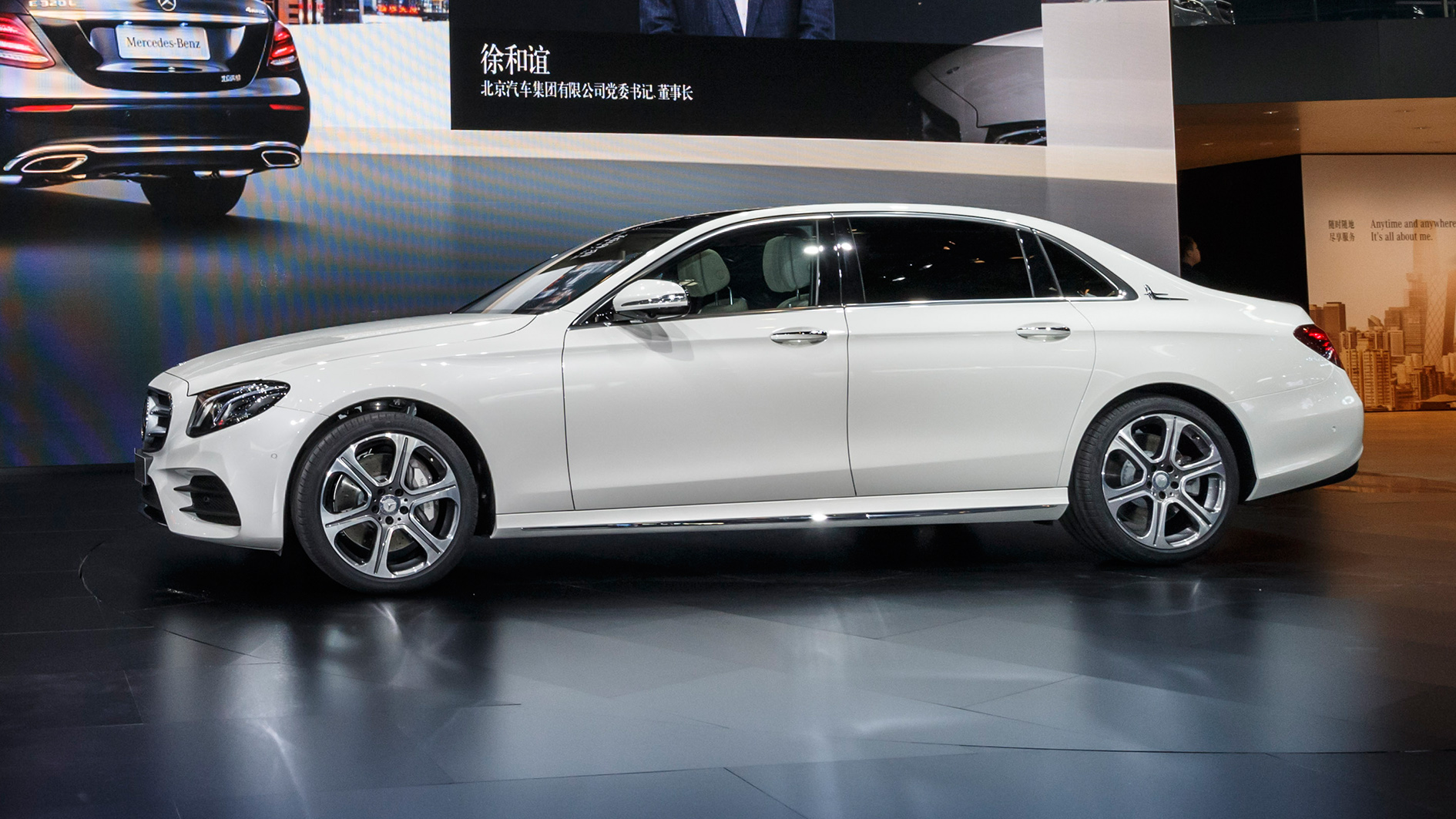 Mercedes Benz And Smart At The Auto China Beijing 2016