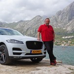Lars with the F-Pace
