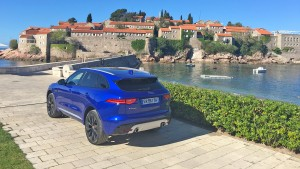 Jaguar F-pace in Montenegro