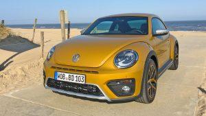 VW Beetle Dune in sandstorm yellow
