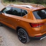 Seat Ateca 2.0 TDI - Rear, side view