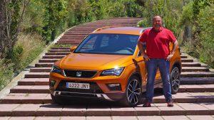 Lars Hoenkhaus with the Seat Ateca 2.0 TDI