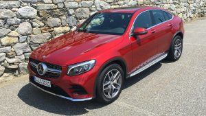 GLE Coupe in Italy 2016