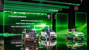 smart at the 2016 Paris Motor Show