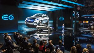 Mercedes at the 2016 Paris Motor Show