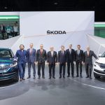 Skoda Kodiaq premiere in Paris 2016