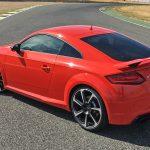 2016 Audi TT RS Coupe at the Jamara Racetrack
