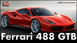 Ferrari 488 GTB Test Drive and Review. Image: Ferrari / http://quickcarreview.com