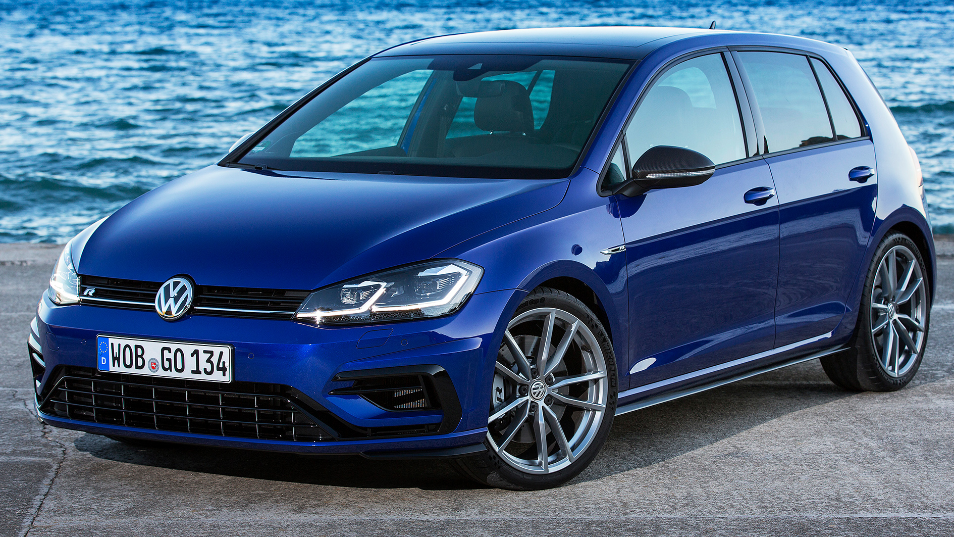 Vw E Golf 2018 >> VW e-Golf & VW Golf R Test Drive on Mallorca | Review | Driving | quickcareview.com - Free Car ...