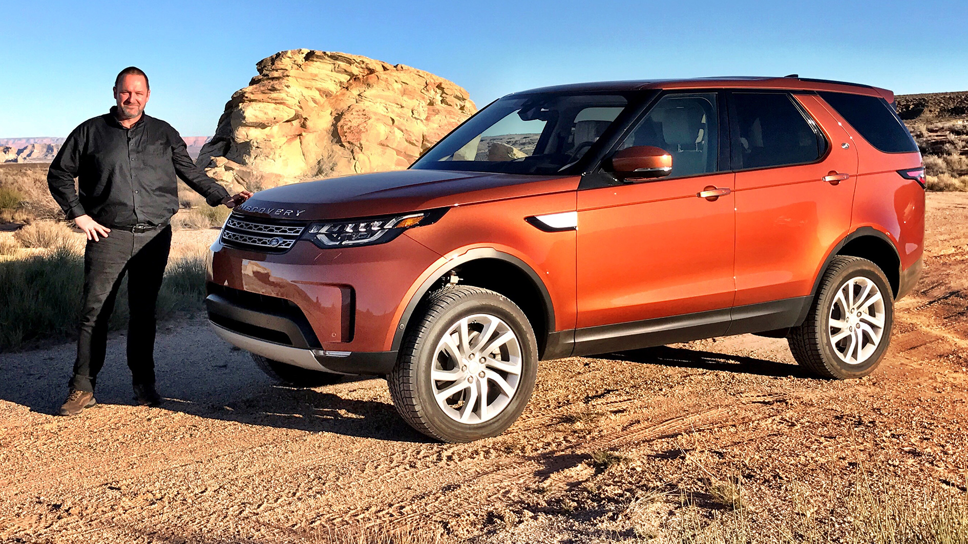 Land rover discovery 3 0 tdi v6 review driving report for Free land 2017