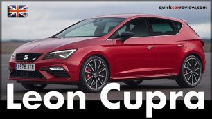 Seat Leon Cupra 2017 Test & Review in Barcelona. Image: Seat / http://quickcarreview.com