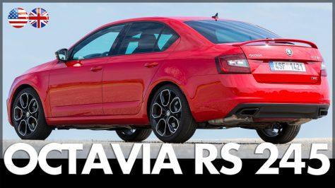 Skoda Octavia RS 245 Review & Test Drive 2017. Image: Skoda / http://quickcarreview.com