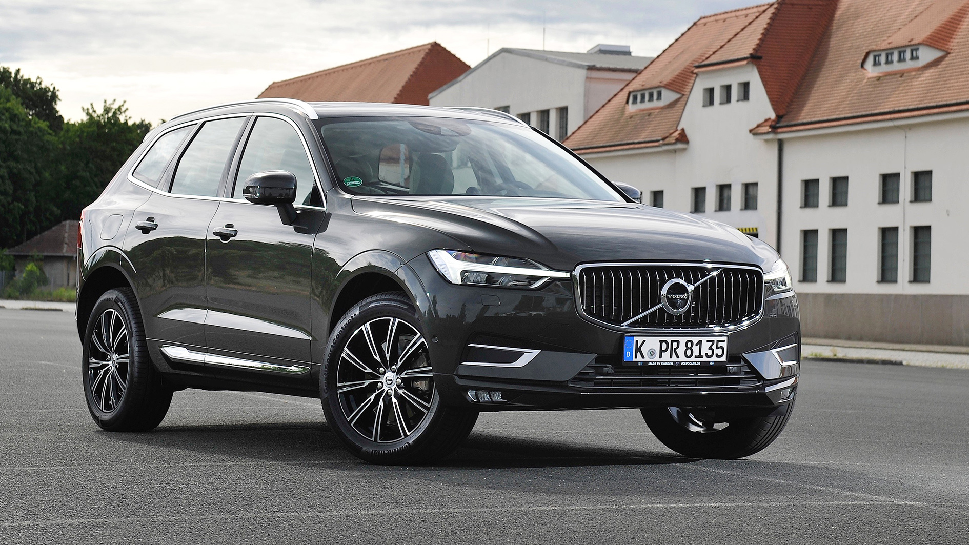 volvo xc60 d5 awd 173 kw 235 hp review test drive 2017 drive report english. Black Bedroom Furniture Sets. Home Design Ideas