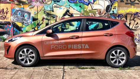 2018 Ford Fiesta 1.0 l EcoBoost Test & Review. Image: http://quickcarreview.com