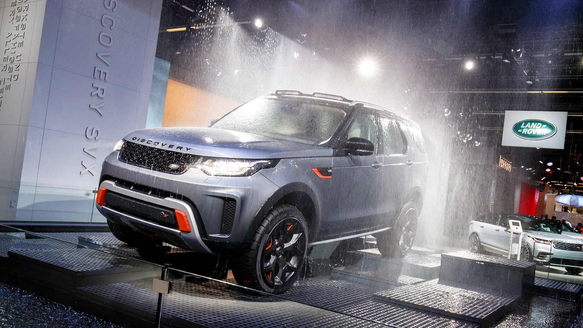 Iaa 2017 jaguar land rover celebrates premieres from e for Free land 2017