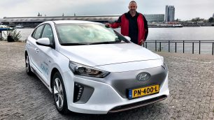 2017 new Hyundai IONIQ Car Sharing in Amsterdam. Image: http://quickcarreview.com