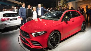 2018 World Premiere of the new Mercedes-Benz A-Class in Amsterdam. Picture: Daimler / http://quickcarreview.com