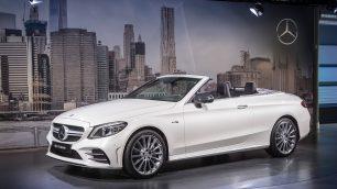 Mercedes-AMG at the 2018 New York International Auto Show. Image: Daimler / http://quickcarreview.com