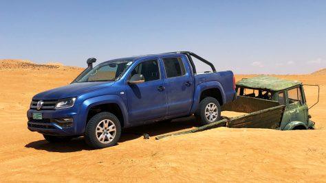 Volkswagen Amarok Adventure Tour Oman. Image: http://quickcarreview.com