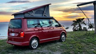 California2California Tour 2018 in the VW T6 California. Image: http://quickcarreview.com