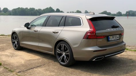 2018 Volvo V60 T6 AWD - Review & Test Drive. Image: quickcarreview.com