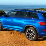 2019 Skoda Kodiaq RS Race-Blue Metallic