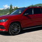 Mercedes-Benz GLS 580 4MATIC, designo cardinal red metallic